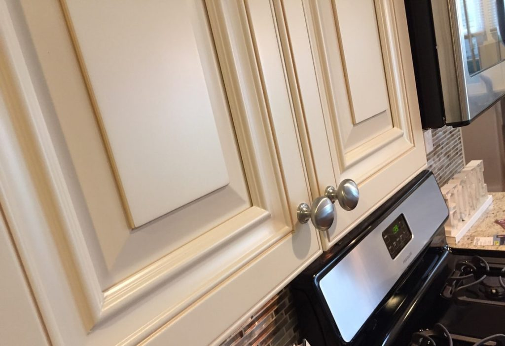Vanilla Breeze Kitchen Cabinets