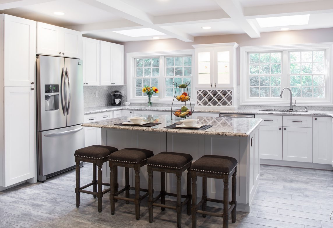 2018 Kitchen Trends White Shaker Kitchen Cabinets