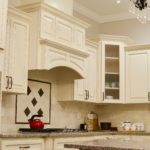 Lexington Ivory Kitchen Cabinets Hood