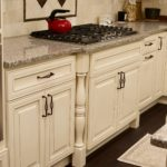Lexington Ivory Kitchen Cabinets Table Legs
