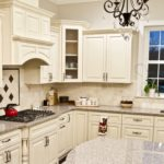 Lexington Ivory Kitchen Glass Cabinet