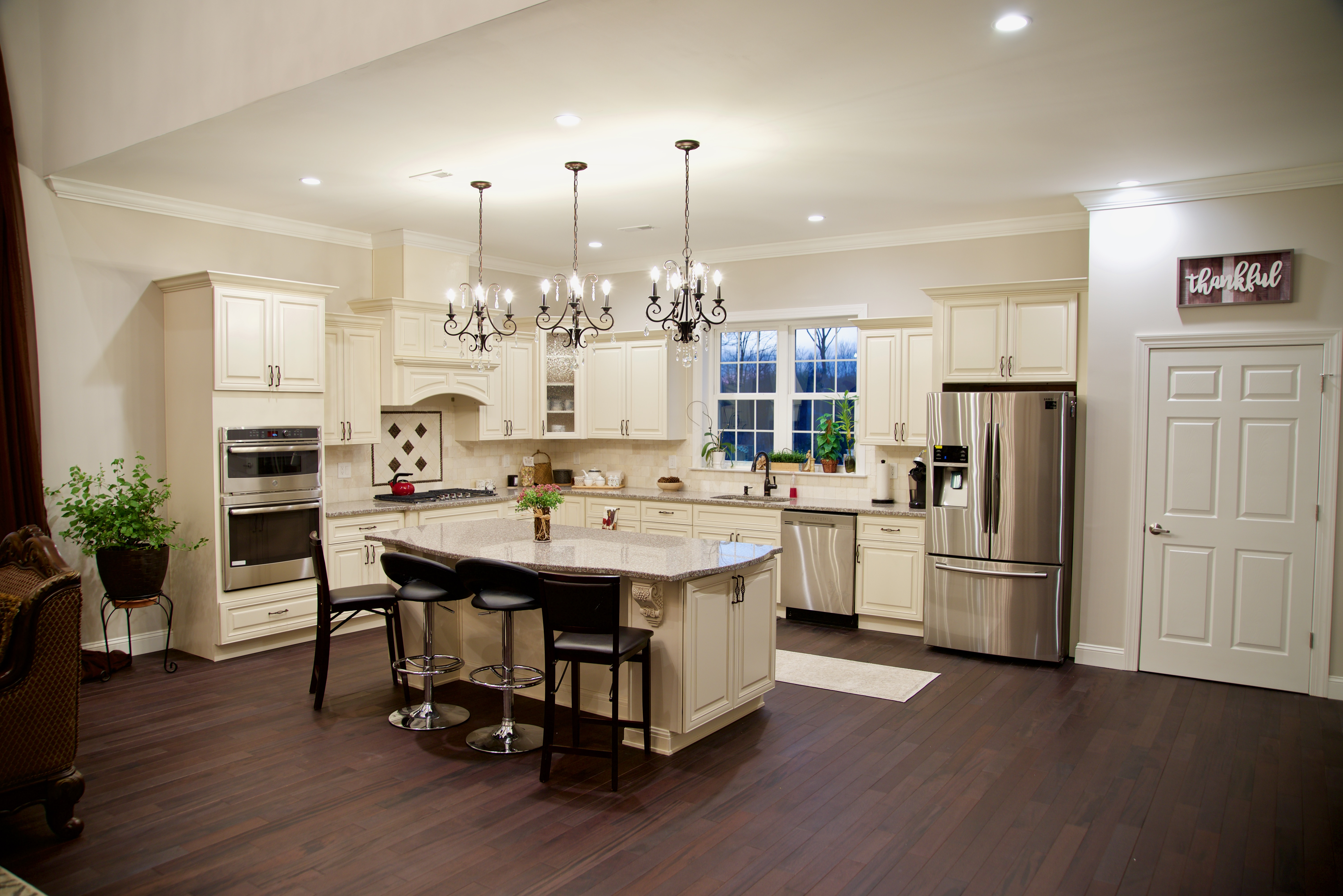 Lexington Ivory Kitchen Island