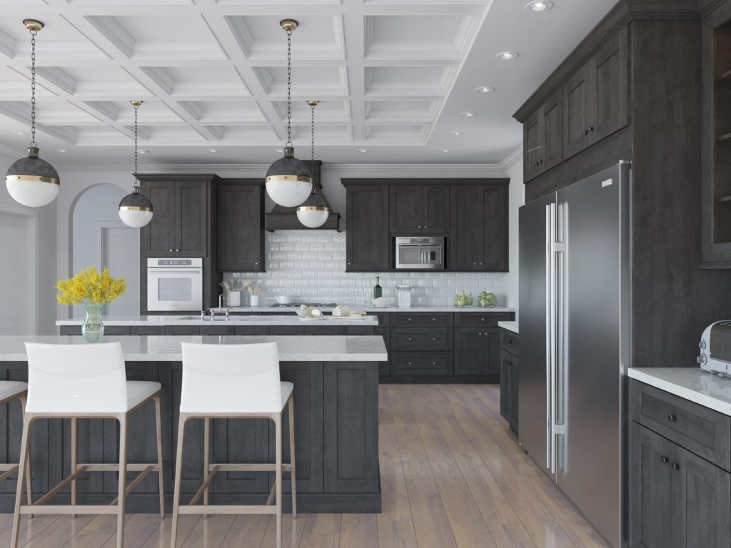 TownSquare Grey - Kitchen Cabinets